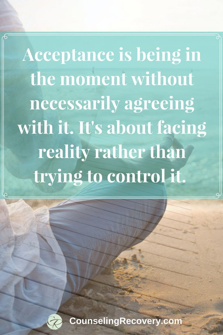 How to let go | practice acceptance | codependency recovery | 12