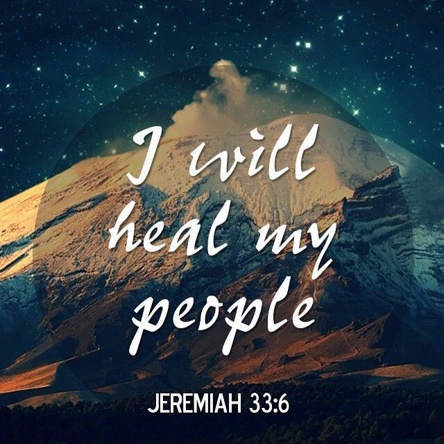 Image of: Bible Verses Quotation Image Quotes Daily Quotes About Life jeremiah33 healing godsppl god jesus