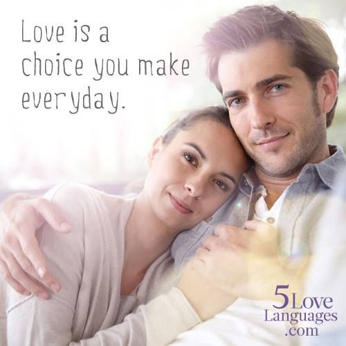 "Quotes About Love For Him: Quotes About Love: ""Love Is A Choice That You Make"