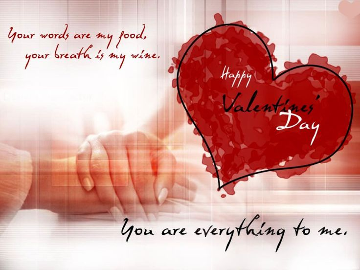 love quotes for him & for her :i love you happy valentines day, Ideas