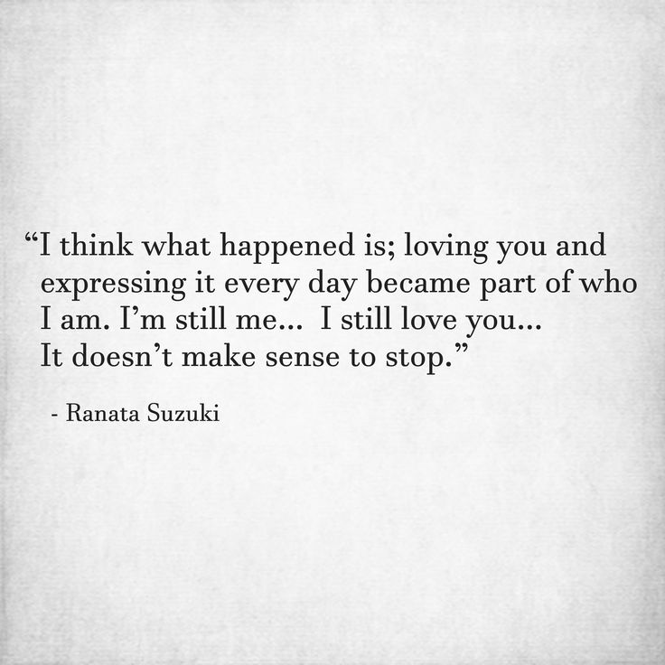 "Expressing Love Quotes: Love Quotes For Him & For Her :""I Think What Happened Is"