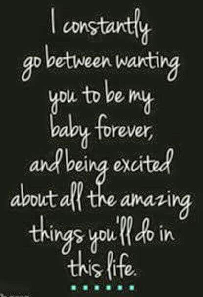 Quotes About Life :I felt this way about my kids. Now I feel ...