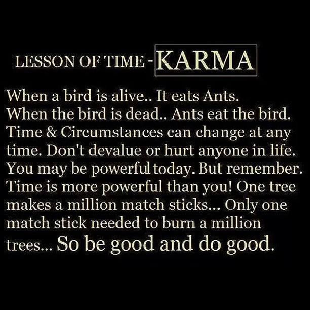 Inspirational Quotes About Strength Karma Quotes Daily Leading