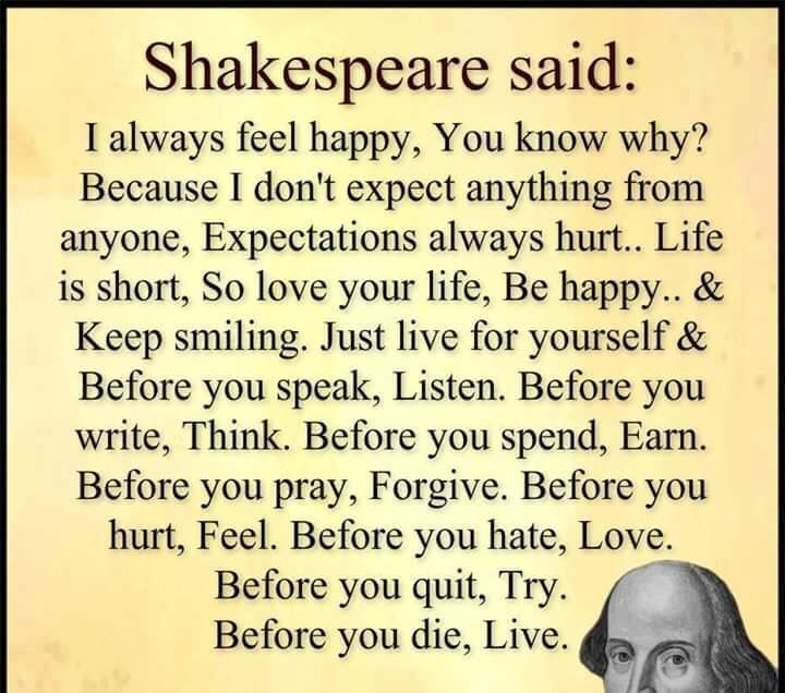 Quotes About Life  Shakespeare Quote About Life Quotes Daily Simple Quote Of The Day About Life