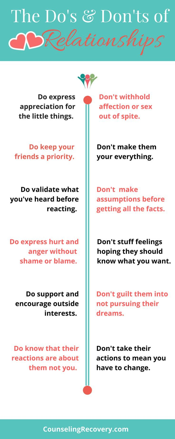 Quotes About Life :How to create healthy relationships ...