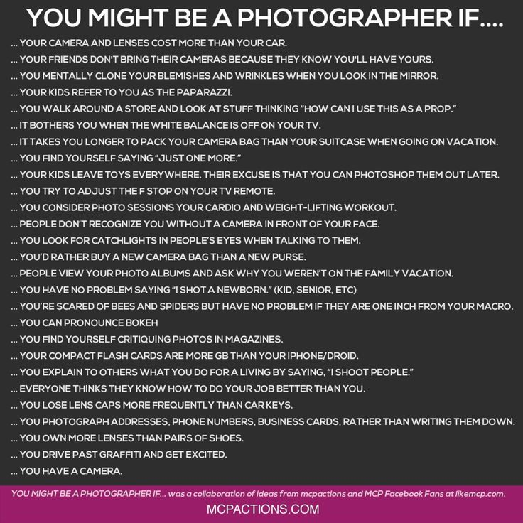 Photography Quotes :Funny Friday for Photographers. \