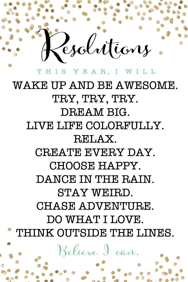 Free Printable New Years Resolution Motivators - Quotes Daily ...