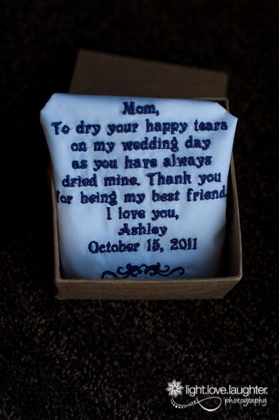 Wedding Quotes :for mom to dry tears. cute - Quotes Daily ...