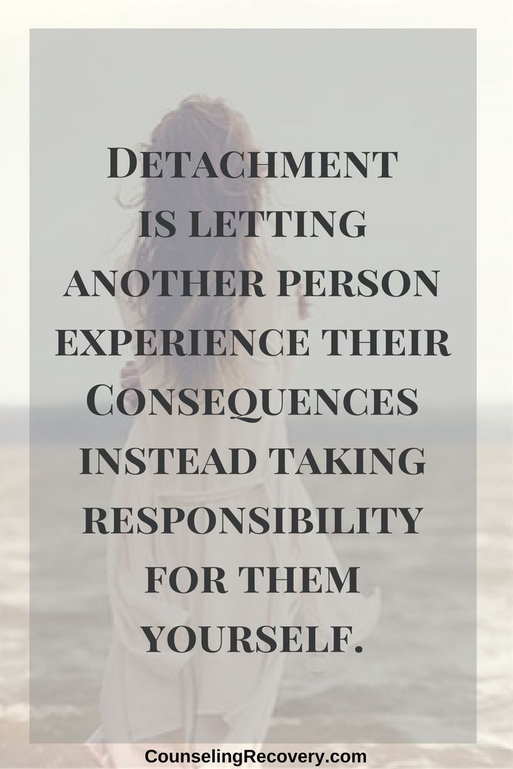 Quotes About Life :Emotional detachment   detaching with
