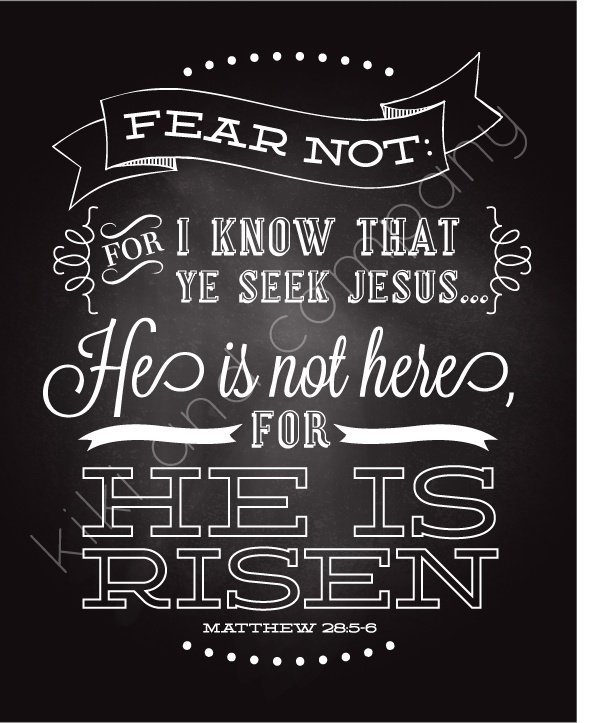 Quotes About Trust :Easter - He is not here for he is risen ...