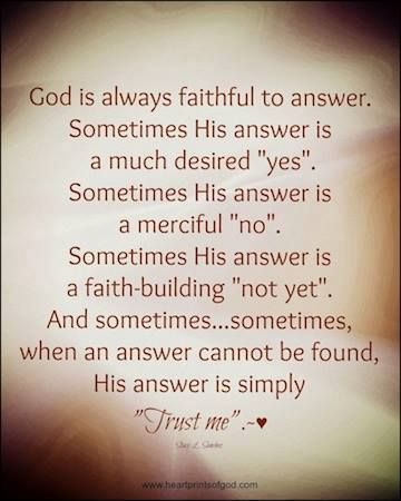 Quotes About Trust God Is Always Faithful Quotes Daily