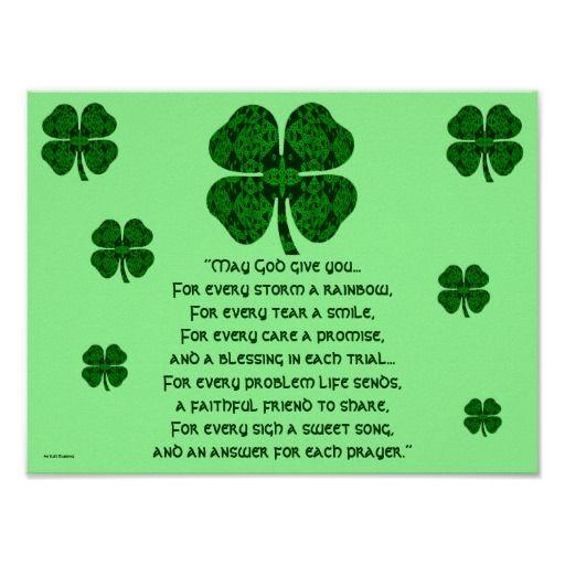 Wedding Quotes :A30 Kaleidoscopic Celtic - Irish Blessing 5