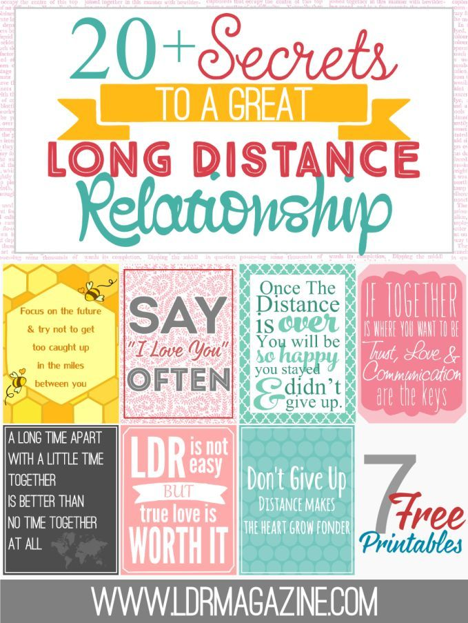 long distance relationships and communication