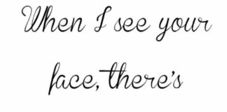 Love Quotes For Him For Her When I See Your Face