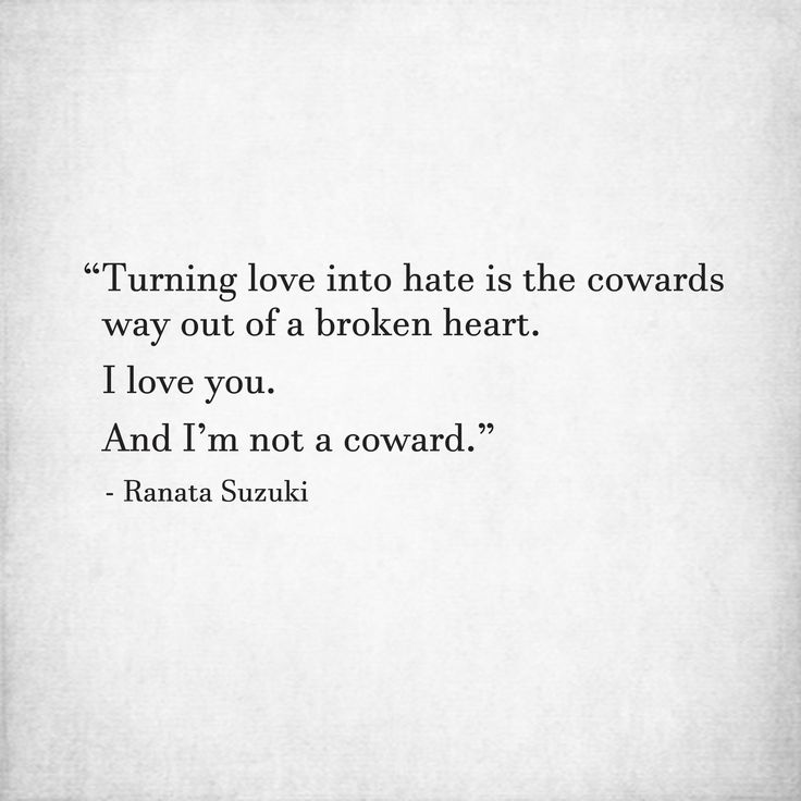 Love Quotes For Him For Her Turning Love Into Hate Is The