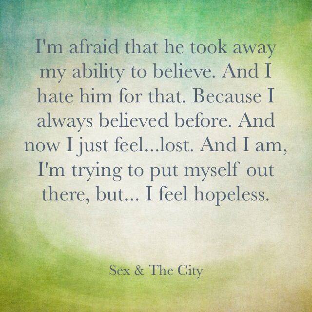Distance Quotes Sex And The City Quotes Carrie Bradshaw Believe
