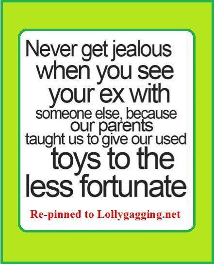 ex jealous quotes