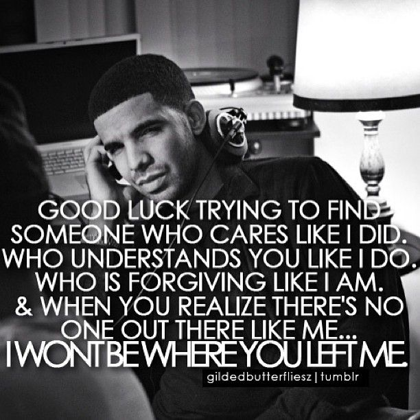 Celebrity Quotes/Lyrics : Drake - Quotes Daily | Leading ...