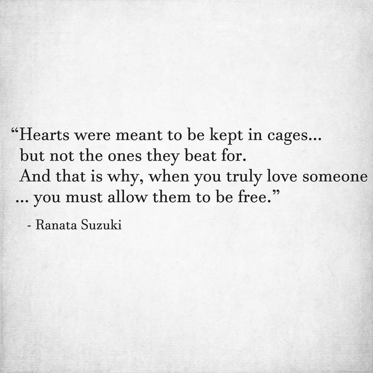 If you truly love someone