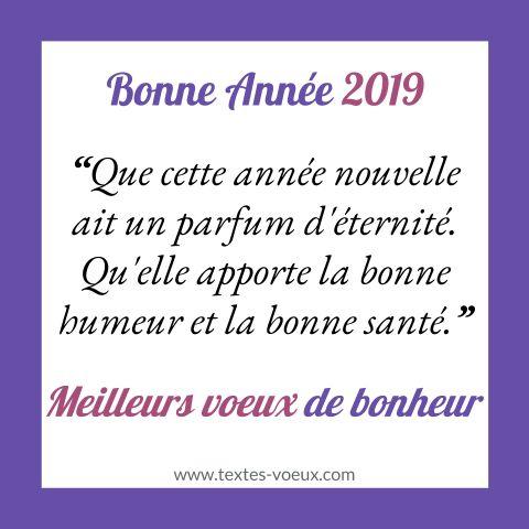 Happy New Year 2019 Beau Texte Bonne Année Poétique