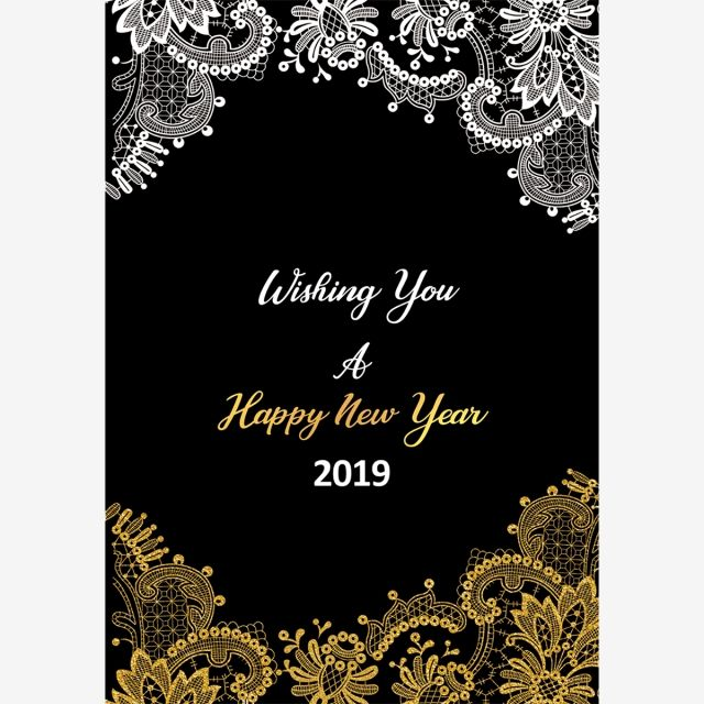 Happy New Year Invitation Card 52