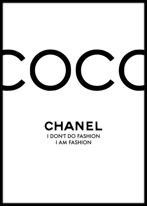 Photography Quotes Coco Chanel Quote Art Print Coco Chanel