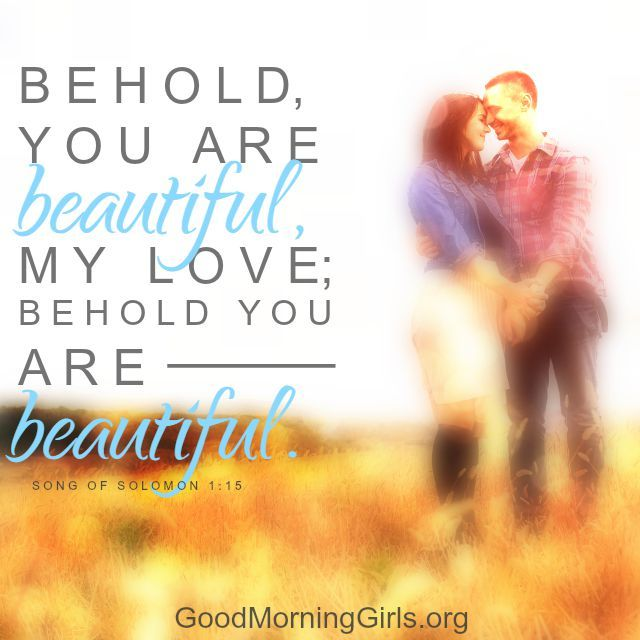 Quotes About Love: Song of Solomon 1:15 - Quotes Daily ...
