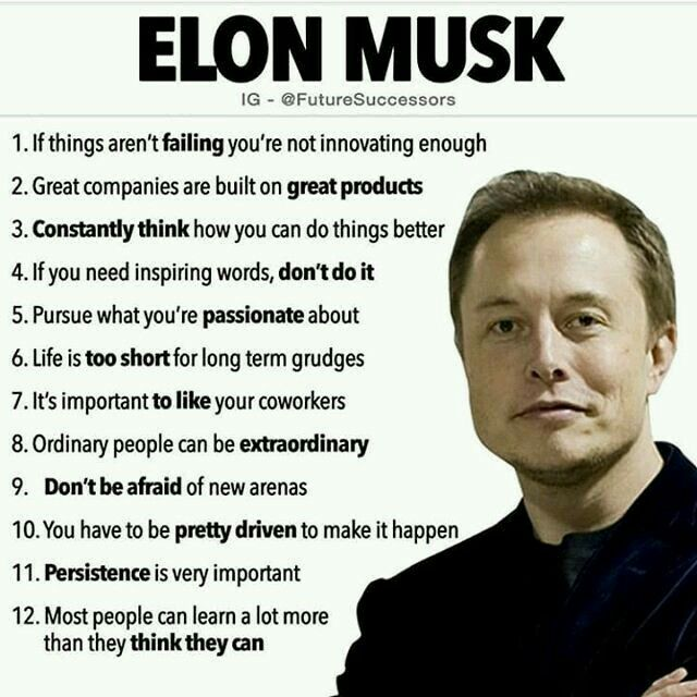 quotes about life elon musk general knowledge gk great