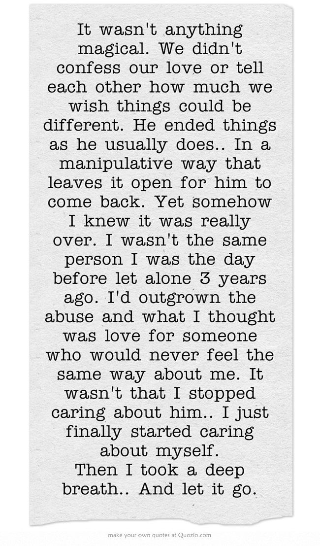 quotes about moving on recovery from emotionally abusive