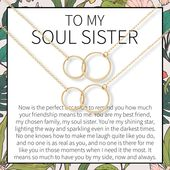 Distance Quotes :Soul Sisters Necklace: BFF Necklace, Best ...