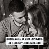 Distance Quotes :Les plus belles citations d'amour: #amour ...